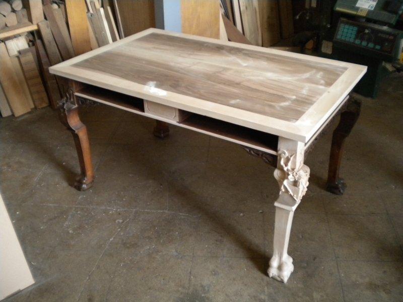 ordinary restaurer une table en bois #12: restauration. table a