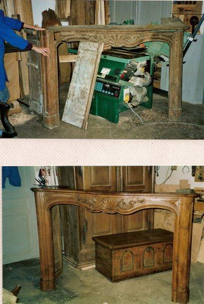 Le bois de kazou restauration de meubles dans le jura for Restauration de meubles en bois