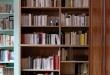 bibliothèque en chène