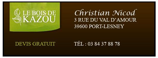 Contact Le Bois de Kazou