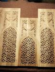 Panneau gothique en Noyer